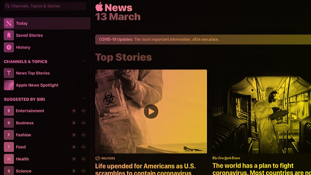 Apple News - Consider where you anticipate coverage appearing to measure